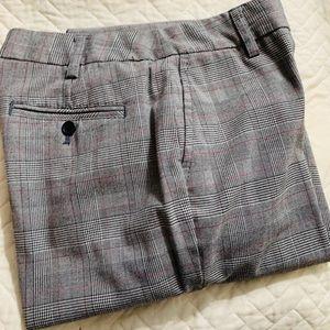 """Liz Claiborne """"Sloane"""" Plaid Dress Pants Size 12R"""